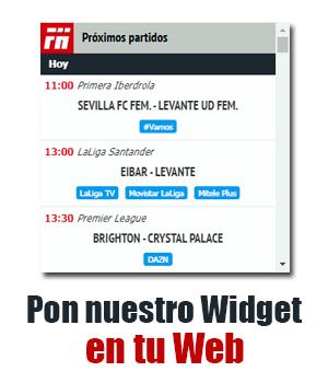 Widget para tu web